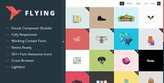 Flying v1.3 - Interactive Portfolio WordPress Theme