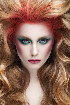 Eyes like gimlets on Makeup Arts Served