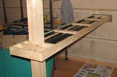 Bar en bois recherche google fait ca pinterest - Fabrication d un bar en bois ...