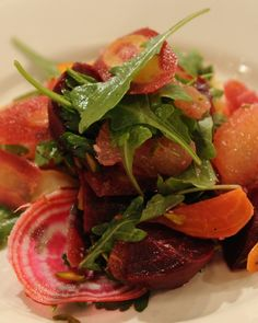 Lightly Smoked Beet Salad