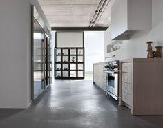 that floor, that kitchen, that ceiling...