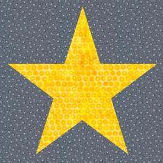 Free Quilt Pattern: Star Block