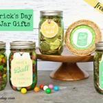 St. Patrick's Day Mason Jar Gifts