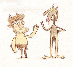 Doodles - Fred Blunt Illustration