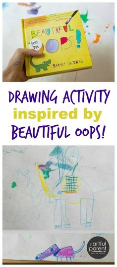 Beautiful Oops Book and Drawing Activity for Kids