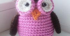 Мастер-класс от Анны Моисеевой по вязанию игрушки крючком сова амигуруми.