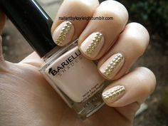 Nude With Gold Studs