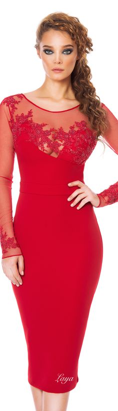 CRISTALLINI Fall-Winter 2014-15 COCKTAIL Dress