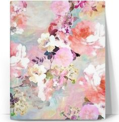 Floral Canvas Print  The cali print is all about wealth and prosperity. This design can be found on leggings, yoga pants, yoga mat, home décor items and many apparel products. Thank