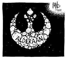 Star Wars Political Cartoon