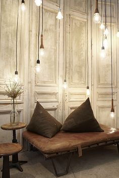 Cool idea - I like the walls - could make them out of old doors