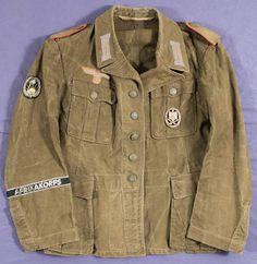 Afrika Korps Sonderverband 287/288 sleeve patch