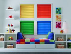 Color your world beautifully with custom child-safe window coverings. Budget Blinds, Interior Decorating Tips, Custom Windows, Wood Blinds, Sit Back And Relax, Blinds For Windows, Kid Beds, Custom Wood, Window Coverings