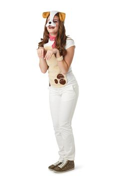 Glitter & Ghouls: Teen/Tween Dog Halloween Costume