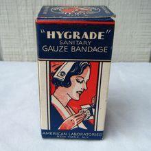 Military Hygrade Sanitary Gauze Bandage in Box