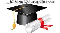شهادة الدكتوراه الفخرية / الأستاذ عبدالسلام ياسين جاسم الجميلي – ADVISOR CS