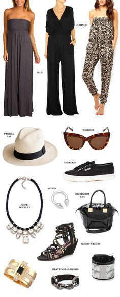 What to Wear: Neutral Spring Musts not sure about the halter pants....l