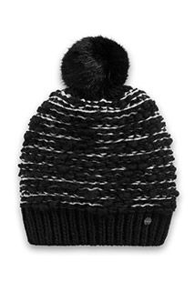 Esprit / bobble hat with a faux fur pompom