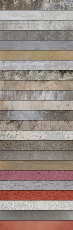 This set of plaster and concrete textures contains 25 hi-resolution images as well as 5 tileable texture images – perfect for repeating backgrounds. Some of the big texture images are up to 5400px wide, so this set is perfect for both web and print projects. Those textures were provided by 10ravens, a brand new website …