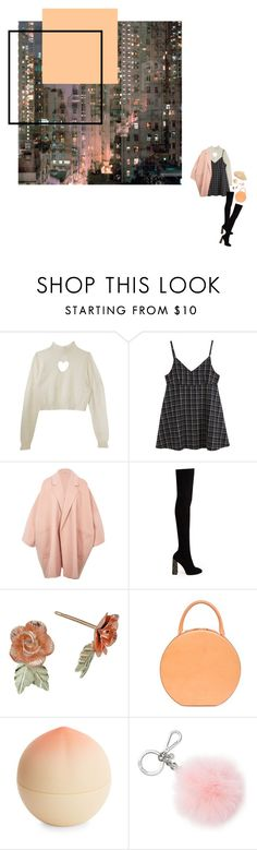 """g r l s"" by floralian ❤ liked on Polyvore featuring Helmut Lang, Sophia Webster, Tony Moly, Michael Kors and Parkhurst"