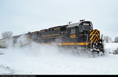 RailPictures.Net Photo: LAL 428 Livonia, Avon & Lakeville Alco C425 at West Rush, New York by Bethany Stellpflug