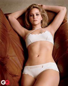 Jennifer Lawrence lingerie