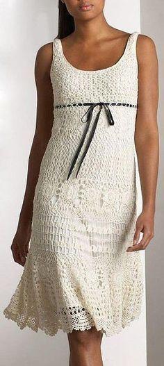 Crocheted Dress: