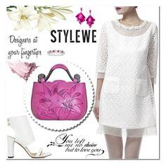 """StyleWe"" by jecakns ❤ liked on Polyvore featuring Elizabeth Arden, IRO and Oscar de la Renta"