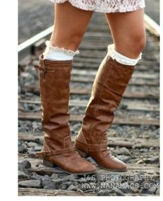 cute brown boots - Google Search