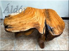 Natural Wood Furniture, Rustic Furniture, Wabi Sabi, Workshop Ideas, Diy Ideas, Woodworking, Design, Home Decor, Decoration Home