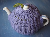 """Royal Garden"" two way tea cosy designed by Teena Sutton Murphy,"