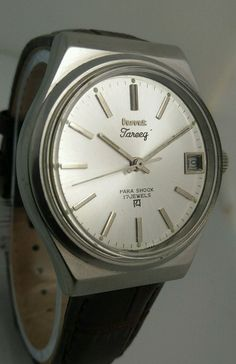 HMT Tareeq Silver Mechanical 17 Jewels Men's wrist watch Vintage Collectible | eBay
