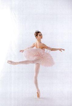 ballerina Evgenia Obraztsova as the sugar plum fairy