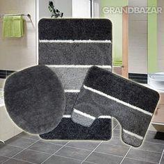 3290 Ft. - Drapp színű fürdőszobai szőnyeg szett, 3 db-os ...