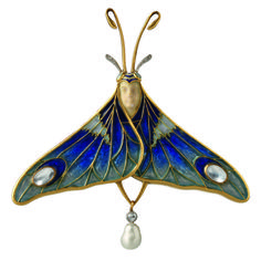 André-Fernand Thesmar Orchid brooch - 1902-1905 - Hessisches Landesmuseum Darmstadt - Art Nouveau