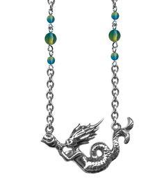 Retro & Vintage Jewelry & Accessories Mermaid Rockware Necklace