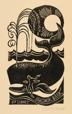 Art-exlibris.net - exlibris by Ladislav Rusek for Jaromir Bilek