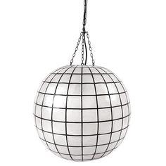 Capiz Pendant Lamp by Jonathan Adler