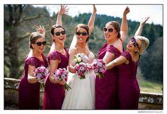 Bridesmaids wear