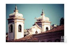 View Of The Unesco World Heritage City Of Ouro Preto In Minas Gerais Brazil Art Print by Mariusz Prusaczyk at Art.com