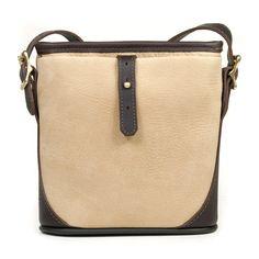 Linwood Mini Bucket Bag   $370.00                 Sahara Sand Nubuck Leather