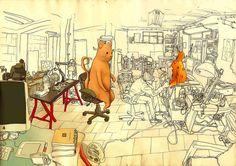 The Lisbon Studio Cover Ilustration  by rrrrricardo