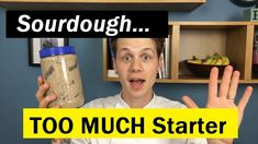 You might think your sourdough starter is sleepy, sluggish, or even dead but I reckon there might just be a little too much of it. If your feeding or refresh. Jack Youtube, Sourdough Bread Starter, Recipes With Yeast, Bread Baking, Breads, Starters, Tips, Rolls, Brot