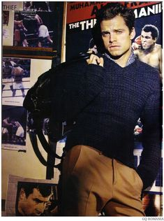 Sebastian Stan for GQ Romania