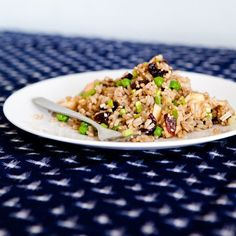 Picnic Recipe: Brown Rice Salad with Apples, Walnuts, and Cherries