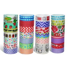 Washi Masking Tape 26 Rolls Decorative Craft Tape Sets for DIY Gift  Wrapping Various Nice Pattern Tape By Botbe    You can find more details by  visiting the ... 676aebdd3f09