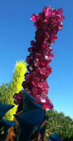 Dale Chihuly glass in Seattle