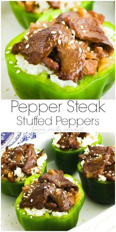 Pepper Steak Stuffed