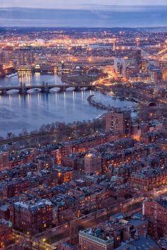 La ciudad de Boston en todo su esplendor