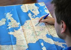 Rick Steves: Planning the perfect European itinerary. So many good resources.